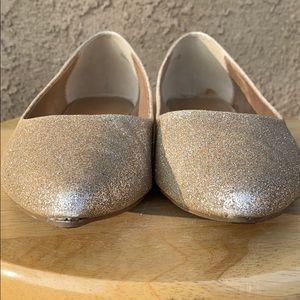 Shoes - BOUTIQUE GOLD FLATS